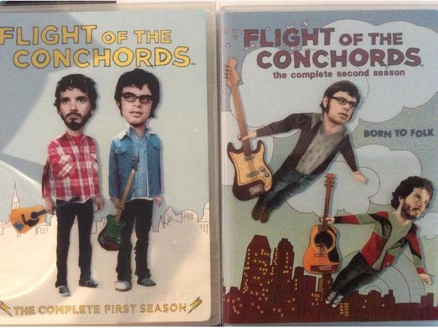 Flight of the Concords DVD box sets - Seasons 1 and 2
