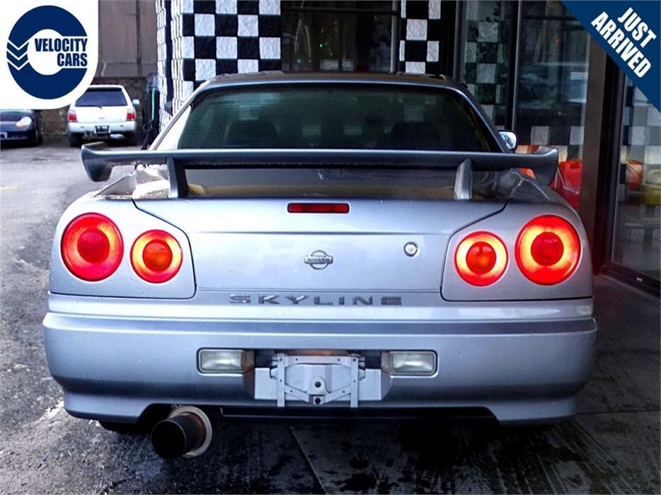 1998 Nissan Skyline R34 25gt T 137k S Turbo 276hp Manual