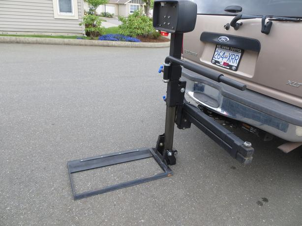 Swing Arm Lift For Pickup : Harmar wheelchair lift for vehicle comox campbell river