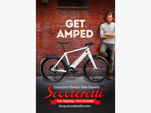 Canada's Premier Electric Bike Shop - Scooteretti