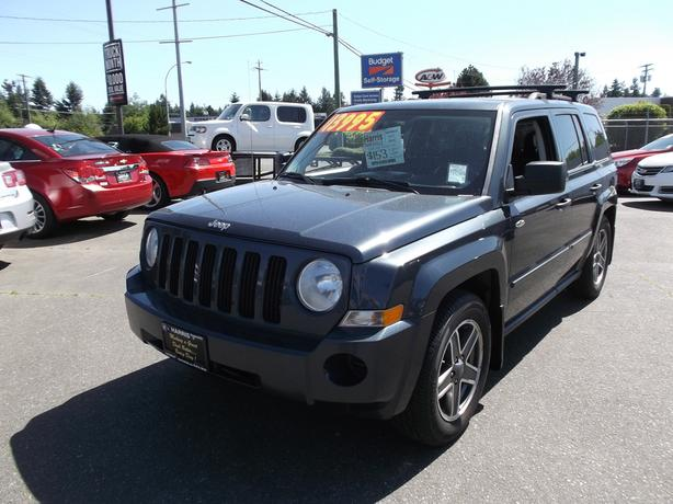 2008 jeep patriot sport edition for sale outside comox. Black Bedroom Furniture Sets. Home Design Ideas
