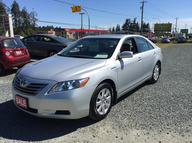 2007 toyota camry hybrid only 136 946kms one owner 50