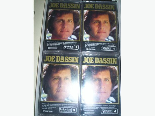 Boxed Set of Joe Dassin Music Cassettes