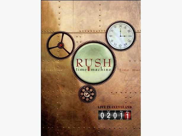 Rush - Time Machine - concert Blu-ray