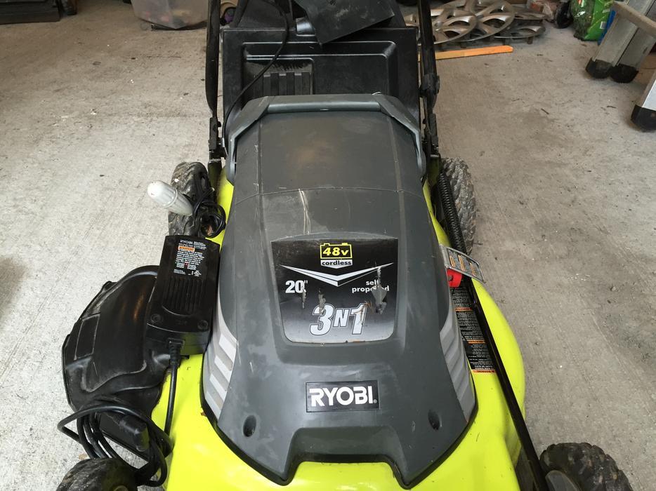 Ryobi 48 Volt Self Propelled 3 In 1 Mower Stittsville