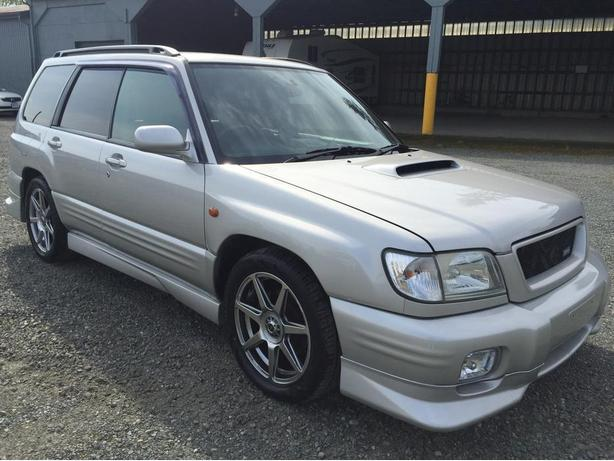2000 Subaru Forester Turbo S/TB model