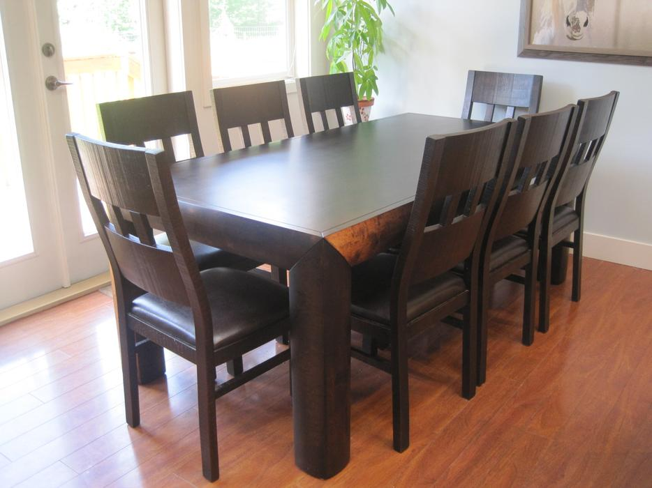 Restaurant Furniture Used Vancouver : Dining table and chairs urban barn yoshi courtenay