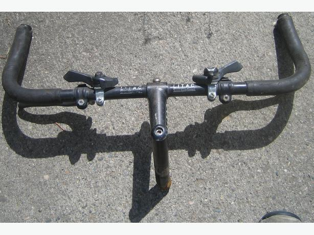 Litac Handlebar with stem,, SIS shifters, brakes and bar ends