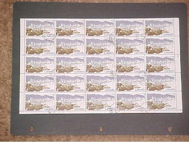 1/2 SHEET OF SCOTT 599