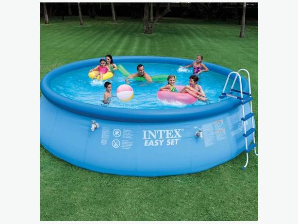Intex 18 39 x 48 above ground pool with salt water - Salt water pumps for swimming pools ...