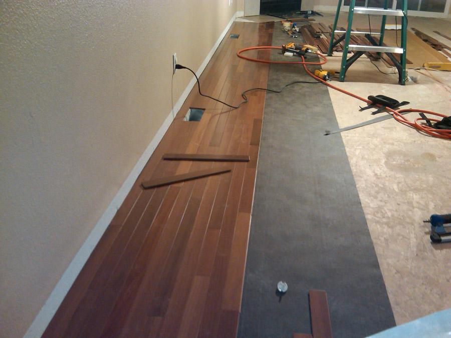 Hardwood and Laminate Flooring Installations Central ...