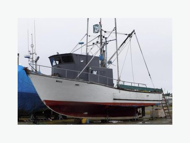 Commercial Fishing Boat And Groundfish Permit For Sale - Brisk