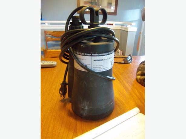mastercraft submersible utility pump manual