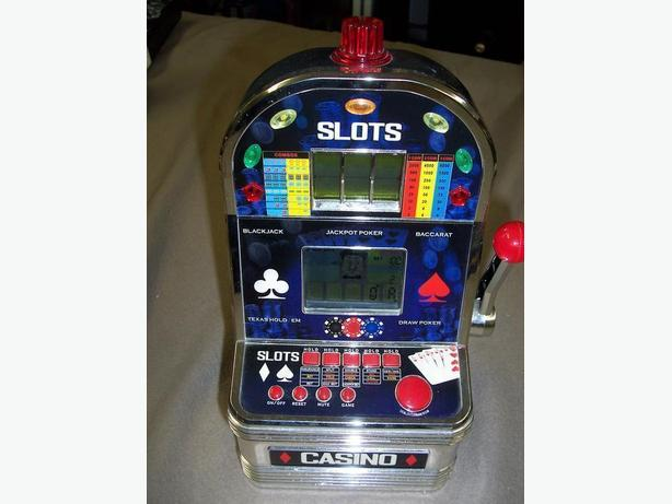 Hand Held Casino Slots Game