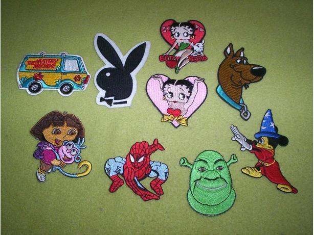 Assortment of Sew on Patches