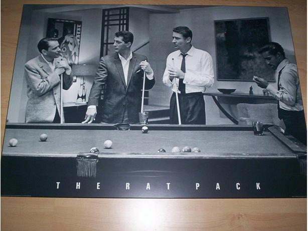 Wooden Slab The Rat Pack Picture