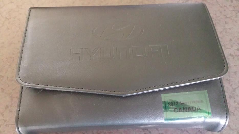 2012 hyundai santa fe owners manual
