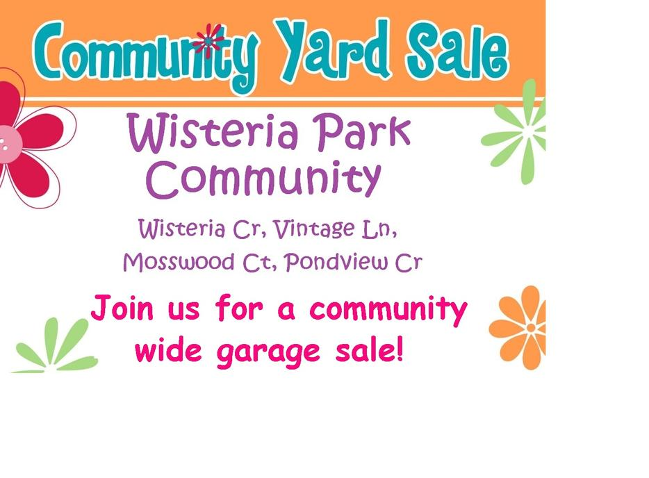 Community Wide Garage Sale Ottawa South End Central