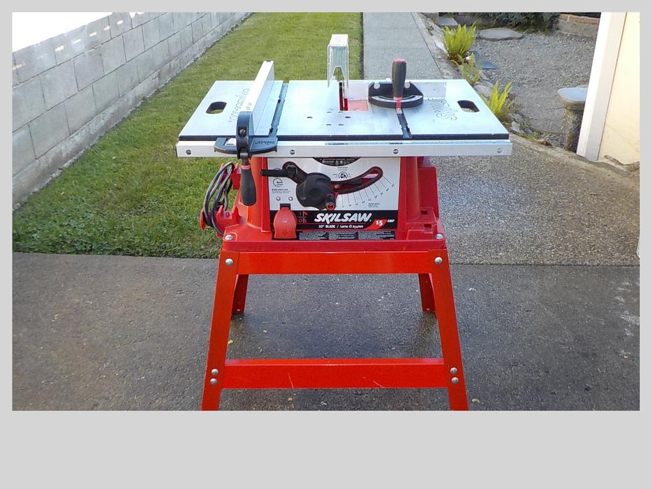 Skil 10 table saw chemainus cowichan mobile for 10 inch skil table saw