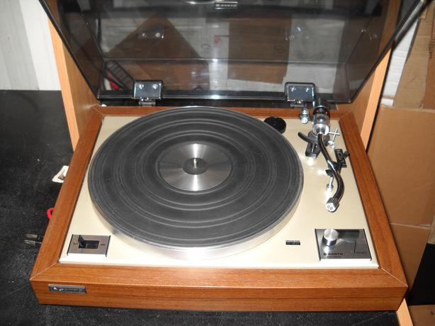 Sanyo Tp 625 Turntable North Regina Regina