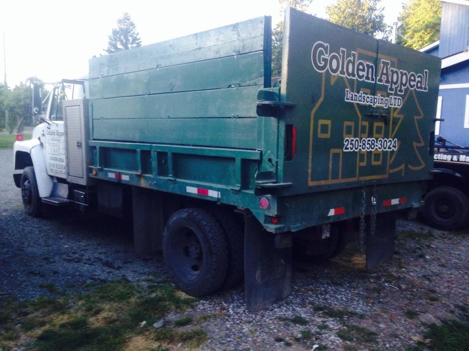 Maple Ridge Dump >> S1600 89 International Diesel Dump Truck 8200 GVW Outside ...