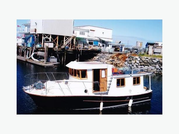 1960 Kenneth Metchosin Trawler - First Lady