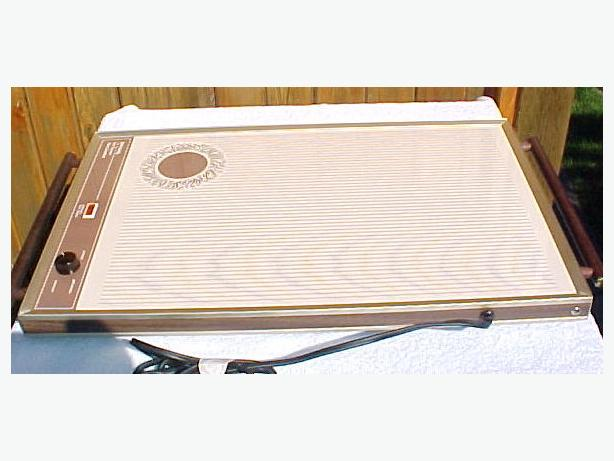 Lg Rival Hot Serv Warming Tray~Rival Counter Hot Tray Model # 1450