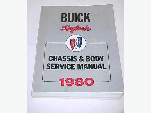 Original1980 Buick Skylark Chassis & Body Service Manual