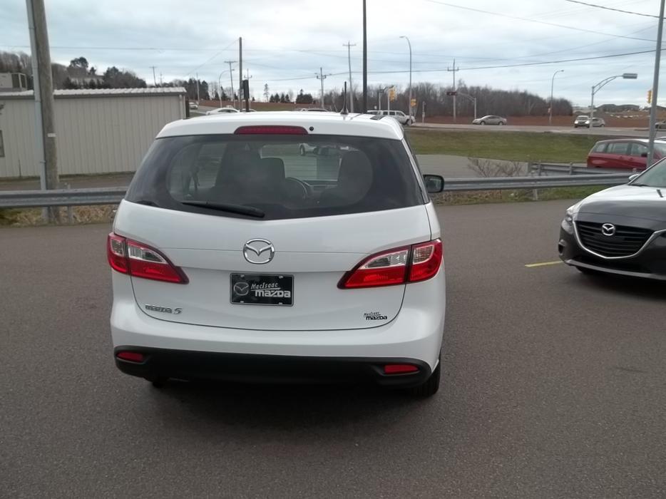Mazda Millenia White Snow Milly Logbook: 2012 MAZDA 5 GS 6 SPEED MANUAL TRANSMISSION ONLY 50830 KM