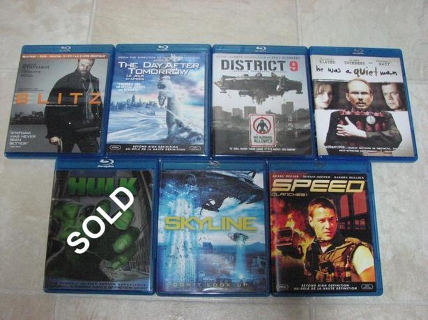 Movies on Blu-ray