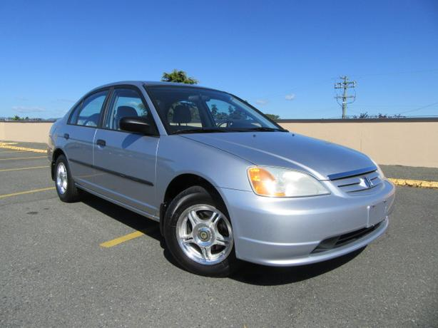 2001 Honda Civic 4 Door, Low Mileage! Air Conditioning, Local Victoria!