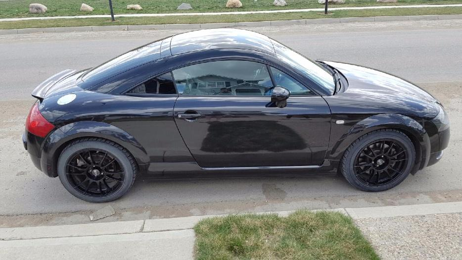 2002 Audi Tt 225 6 Speed Manual Quattro South Regina Regina