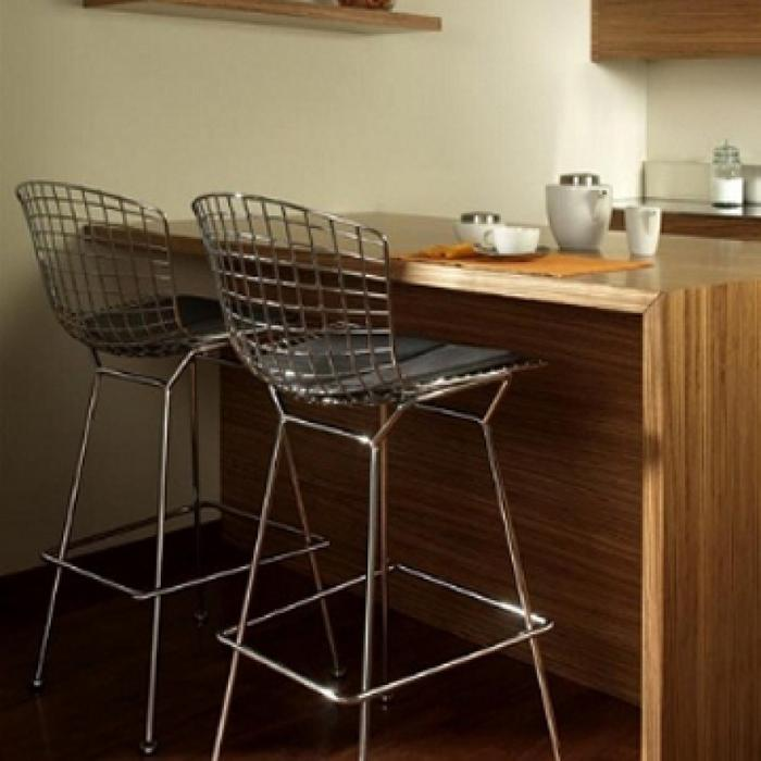 Kitchen Stools Halifax: Replica BERTOIA WIRE Counter Stools (2 For $200) Structube