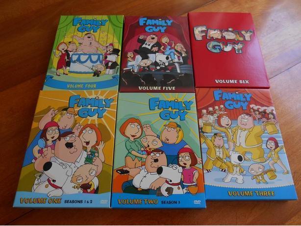 Family Guy - Volumes 1-6