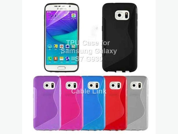 S Line Soft TPU Gel Silicone Case Cover For Samsung Galaxy S7 G930