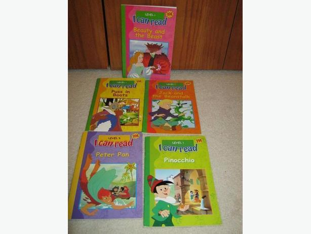 5 early level reader books all for one price.