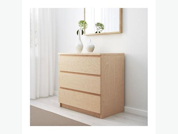 2x ikea malm chest of drawers birch veneer victoria city victoria - Ikea malm letto contenitore ...