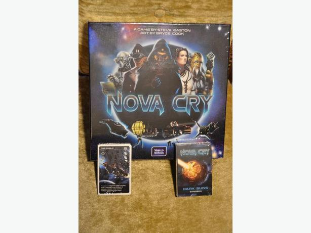 Nova Cry Kickstarter Edition + Expansion (Unopened)