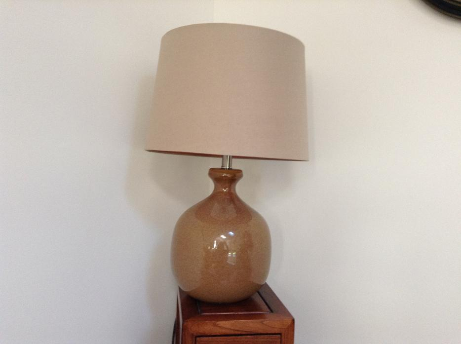 Large Table lamp Outside Nanaimo, Nanaimo