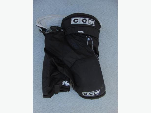 Hockey Pants Men S Size Large Ccm Tacks 34 36 Inch Waist