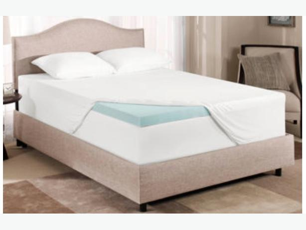memory foam mattress topper king size parksville nanaimo. Black Bedroom Furniture Sets. Home Design Ideas