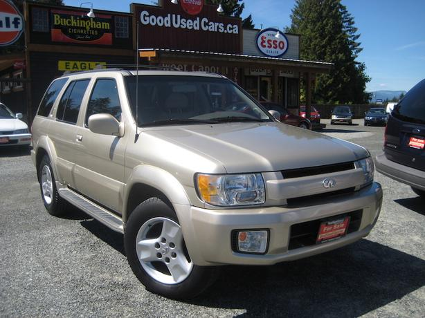 2001 infinity qx4 leather 4x4 outside comox valley courtenay comox. Black Bedroom Furniture Sets. Home Design Ideas