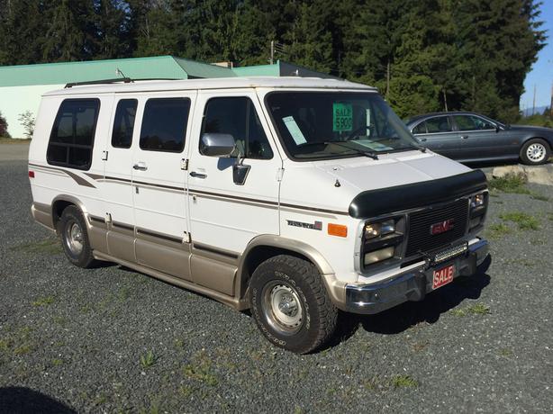 1995 Gmc Vandura 3 4ton Starcraft Conversion Van For Sale