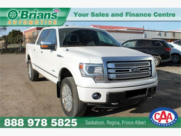 2013 Ford F-150 Platinum - LEATHER 4x4 EcoBoost