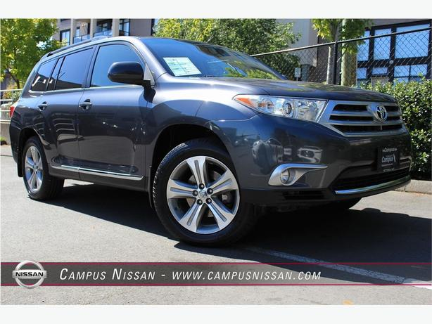 2012 Toyota Highlander XLE  w/Leather 7 pas