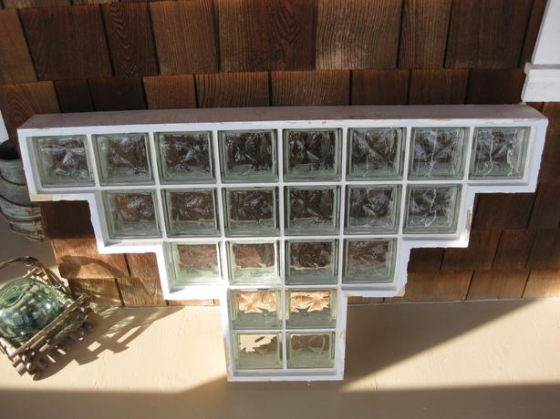 glass blocks insert