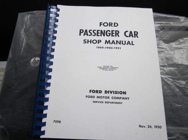 Ford Shop manual  ( car)