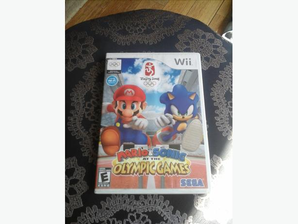 Mario & Sonic Olympic Games Nintendo Wii