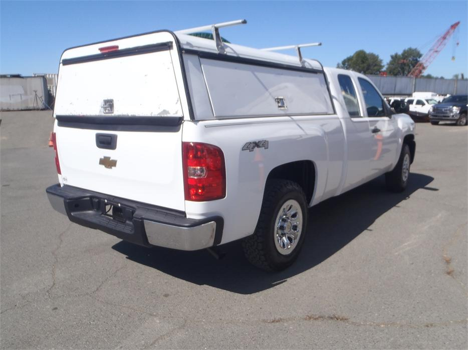 New Chevrolet Silverado 1500 Creston >> 2011 Chevrolet Silverado 1500 Ext. Cab 4WD with Canopy and Roof Rack Burnaby (incl. New ...