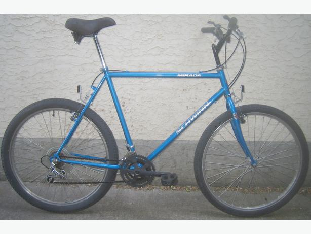 Schwinn - tall frame with 26 inch tires